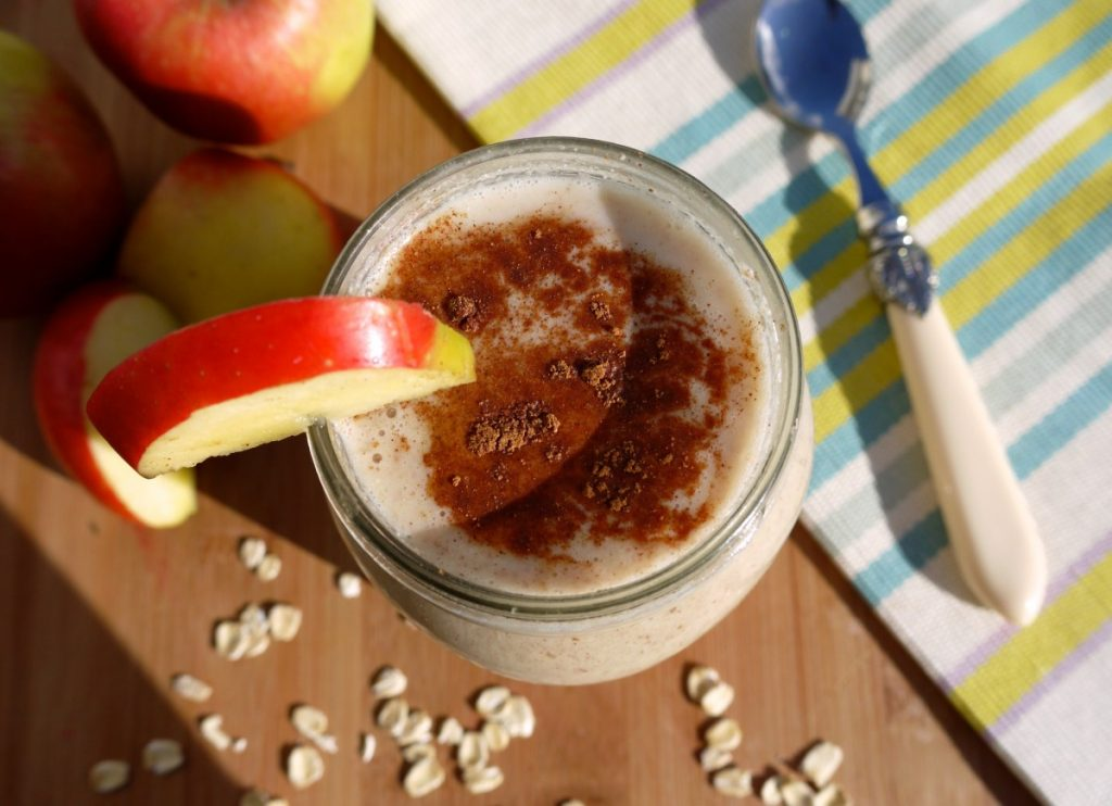 apple and great grains shake