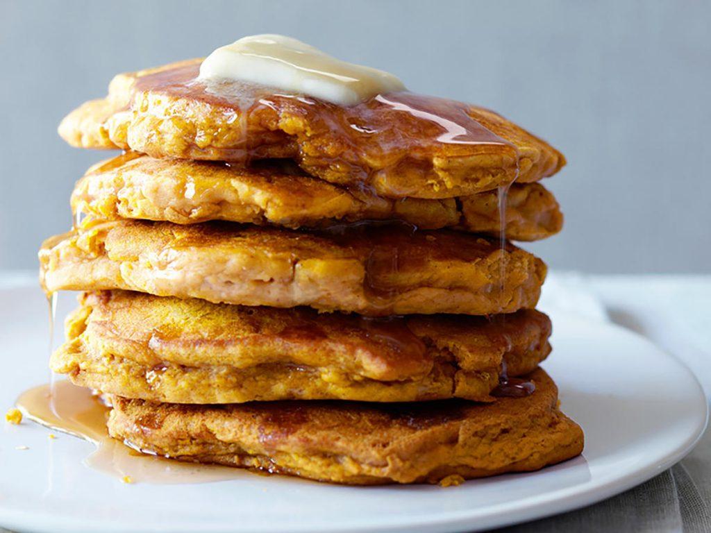 fitness recipe apple pancakes