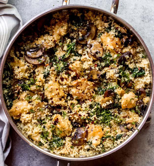 fitness recipe quinoa chicken